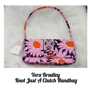 🆕️Vera Bradley Knot Just A Clutch Handbag